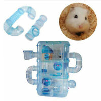 Hamster External DIY Pipeline Tunnel Fitting Tube Exercise Cage Accessories