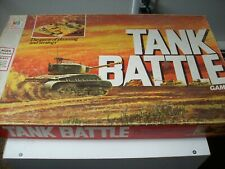 1975  milton bradley tank battle board game