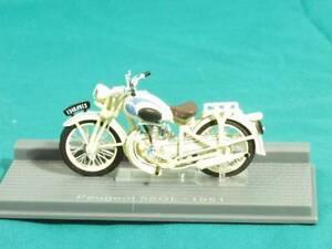 PEUGEOT 55GL MOTORCYCLE DIECAST MODEL SUPERBIKE 1951 IXO