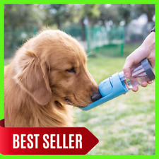 Portable Pet Dog Water and Food Bottle For Small Large Dogs Travel Puppy Cat Bow
