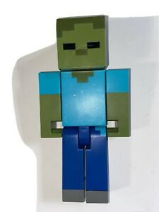 Minecraft Zombie Large Scale Action Figure Toy 8.5 Inch Mattel Mojang