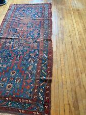 3x7 vintage oriental rug