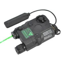 PEQ-15 Green Dot Laser Box Gear with LED Flashlight and IR Illuminator Lights BK