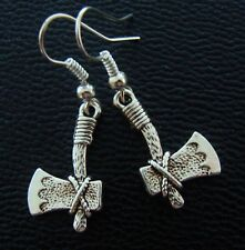 Indian style Tomahawk HATCHET Ax EARRINGS Jewelry -Florida State Seminoles FSU