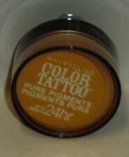 Maybelline Eye Studio Color Tatoo Pure Pigment 24hr Eye Shadow WILD GOLD #25