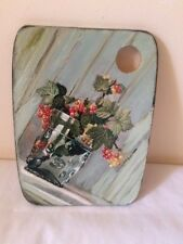 Hand decorated by ME bamboo cutting chopping  board