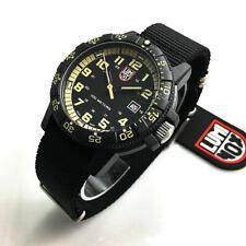 Men's Luminox Leatherback Sea Turtle Giant Nylon Strap Watch 0333