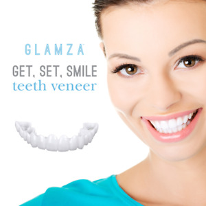 **INSTANT SMILE Veneers | Perfect Teeth Temporary Replacement Fake Veneers Kit**