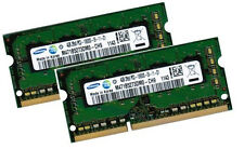 2x 4gb 8gb ddr3 DI RAM MEMORIA ACER ASPIRE 5738z 5739 memoria di marca SAMSUNG