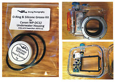 O-ring & Silicone Grease Kit for Canon WP-DC12 Diving Underwater Housing Case