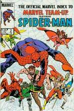 Marvel team-up index # 2 (spiderman & others) (états-unis, 1986)