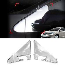 Chrome Silver Side Mirror Bracket Garnish Molding For RENAULT 10-17 Fluence SM3