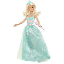 Barbie Modern Princess Party Doll Blonde Teal Dress 2011 Girl NEW
