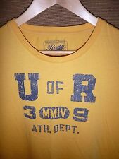 "RARE VTG 2008 Men's Ralph Lauren RL. Rugby & CO. ""U of R""  T Shirt size Large"