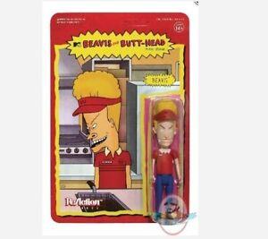 Beavis & Butthead Burger World Beavis ReAction Figure Super 7