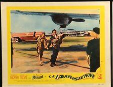 "LA PARISEANNE Brigitte Bardot ORIGINAL 1963 MOVIE LOBBY CARD POSTER 11"" x 14"""