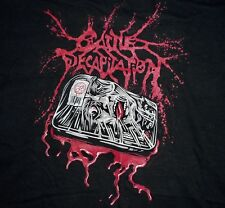 Cattle Decapitation - Curse The Heads Of Men 2-sided Lady's shirt YL (Black)