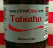 Share A Diet Coke With Tabatha Limited Edition Coca Cola Bottle 2015 USA