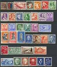 SWITZERLAND SEMI-POSTAL COLLECTION MINT & USED UNTIL 1946