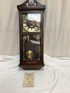 President Westminster Chiming Quartz Pendulum Clock