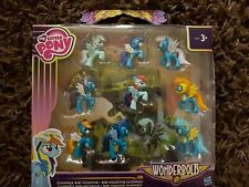 My Little Pony Wonderbolts Cloudsdale Mini Collection Mini Figure 10 Pack - New