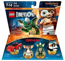 LEGO Dimensions Gizmo & Stripe 71256 Team Pack Gremlins New In Box