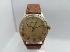 Vintage 1940's WWII Era Swiss Made 34 MM Ogival Extra Cal AS 1220-21 Manual Wind