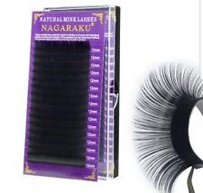 Individual Mink lashes silk single eyelashes extension C curl 12 MM *UK SELLER*