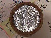 (ONE) FNB Denver Walking Liberty Silver Half Dollar 20 Coin Roll UNC Ends