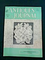 Antiques Journal 1963 Shell Cameos Faience Rouen Stasbourg Maretta Doll Museum