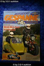 Motorrad Gespanne Nr.65 5/01 Honda GL 1800 Moto Guzzi V11