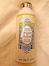 Vtg Crabtree & Evelyn Jasmin de Provence Body Powder Shaker 3.5oz sealed - Rare