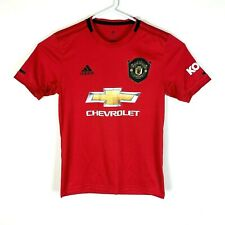 Adidas Manchester United 2019/2020 Football Soccer #10 Jersey Size Men's Small
