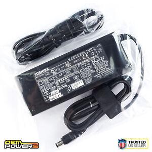 Genuine Toshiba Portege Tecra Satellite Laptop AC Power Adapter PA3283U-1ACA 15V