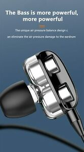 High Bass 6D Sport Earphone Wired 3.5mm Earphone Super Bass Earbud Earphon With