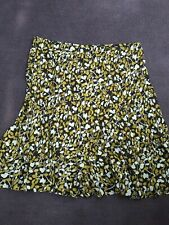 BROWN PATTERNED SKIRT SIZE 20 CLASSISCS