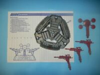 1988 GI Joe Cobra Battle Barge Boat Playset w/ Blueprints *Complete