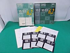 WINDOWS software -- MS DOS 6.2 -- very rare 3.5'' 2HD software JAPAN
