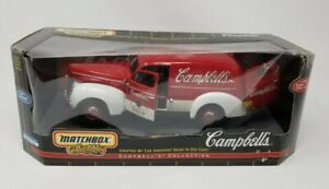 2000 Matchbox Campbell's Ford Sedan Delivery Diecast NIB Box Damage