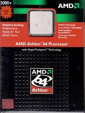 AMD ATHLON 64 3000+ 1.8GHZ 1000FSB 512K CACHE SOCKET 939 W/HEATSINK & FAN - NICE