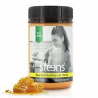 [BUY DIRECT] Steens Certified UMF5 (MGO83) Raw Manuka Honey 17.6 oz jar from NZ☆