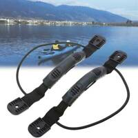 2x Kayak Canoe Boat Rubber Side Mount Carry Handle Easy Carring Craft Accessory