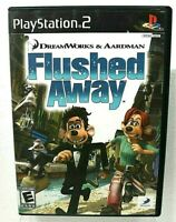 Flushed Away - Playstation 2 PS2 Game - Complete & Tested - Free Shipping