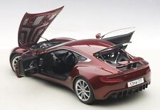 Autoart ASTON MARTIN ONE-77 DIAVOLO RED in 1/18 Scale. New Release! In Stock!
