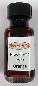 Brightvision ORANGE Nitro-Flame Redline Restoration and Custom Paint - HK ORANGE