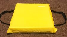 Throwable Boat Foam Safety Cushion, Type IV, Yellow, 40103