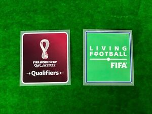 OFFICIAL PLAYER ISSUE FIFA World Cup 2022 QATAR QUALIFIER PATCHES