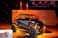 Led RGB Remote Dune Buggy ATV UTV Quad 4 Wheeler 4pc Led Under Body Glow Pod Kit