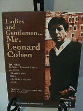 Ladies and Gentlemen...Mr. Leonard Cohen/ In Short: Leonard Cohen Import Canada