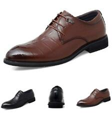 Mens Low Top Leisure Faux Leather Shoes Business Work Office Oxfords Formal 44 L